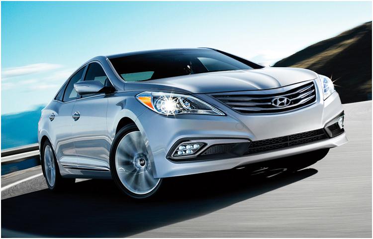 2016 Hyundai Azera model exterior