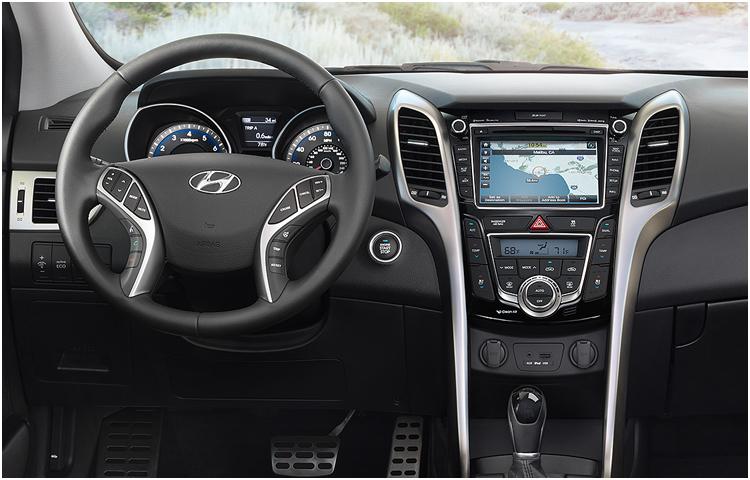 2016 Hyundai Elantra GT Interior