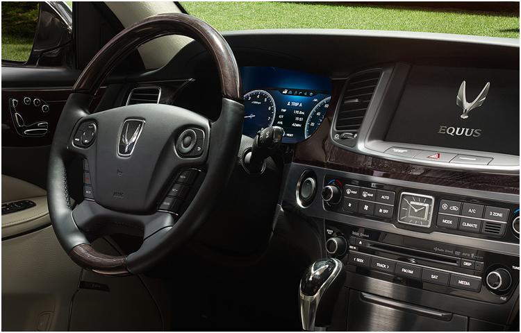 2016 Hyundai Equus Interior
