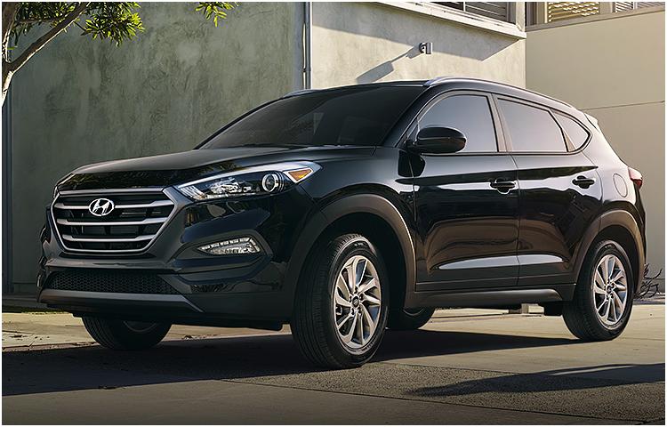 2016 Hyundai Tucson Exterior Features