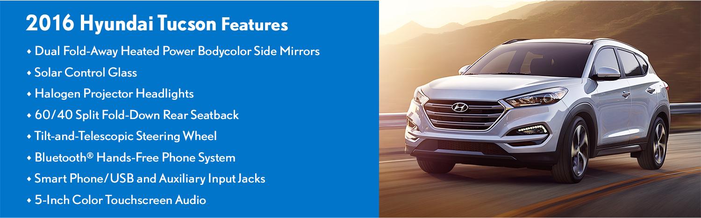 2016 Hyundai Tucson Features