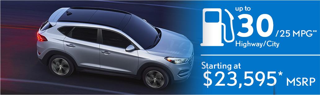 2016 Hyundai Tucson MSRP
