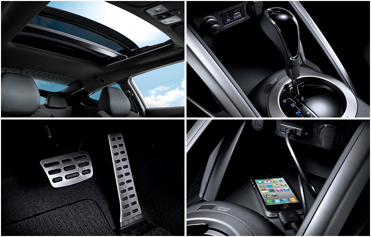 2016 Hyundai Veloster model interior