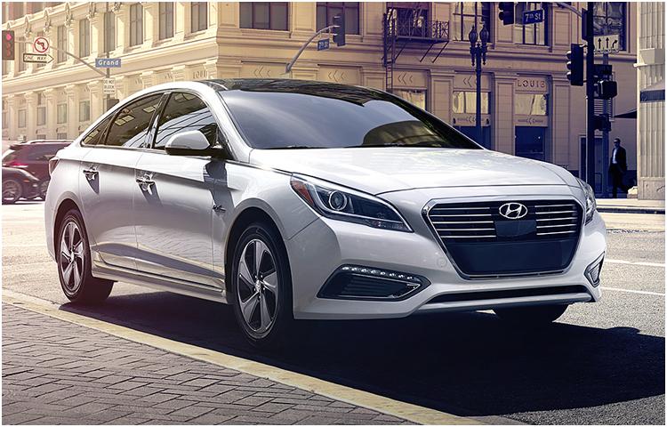 2017 Hyundai Sonata Hybrid model exterior