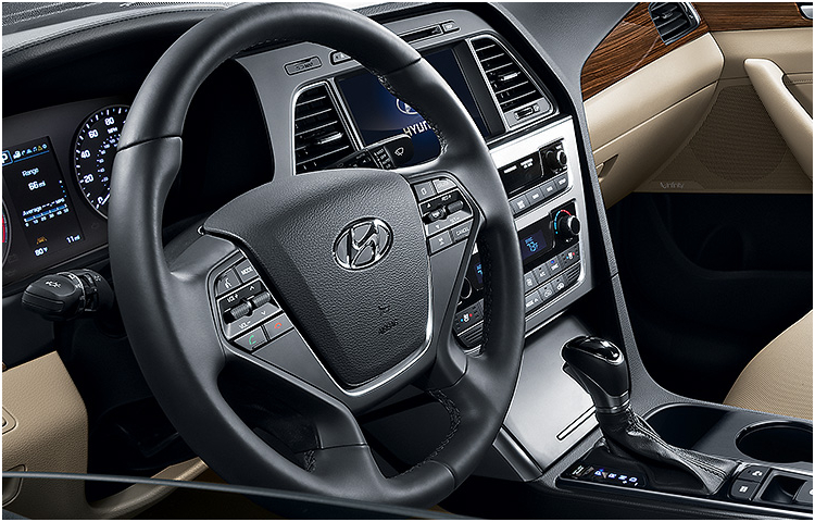 2017 Sonata model interior design