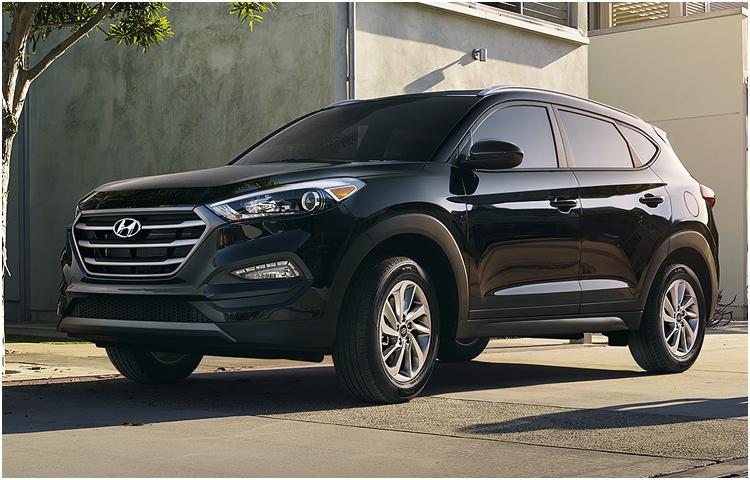 2017 Hyundai Tucson model exterior