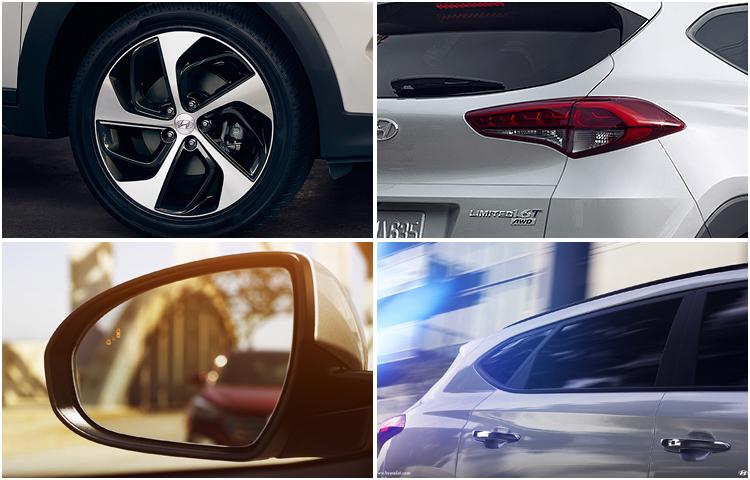 2017 Hyundai Tucson model exterior design