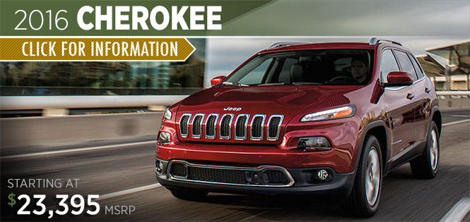 Click to Research The 2016 Jeep Cherokee Model in Tacoma, WA