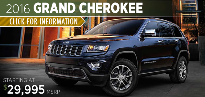 Click to Research The 2016 Jeep Grand Cherokee Model in Tacoma, WA