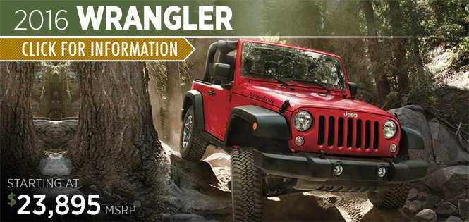 Click to Research The 2016 Jeep Wrangler Model in Tacoma, WA