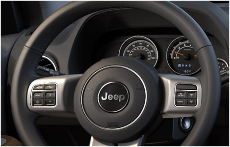 2017 Jeep Compass Model Interior Design