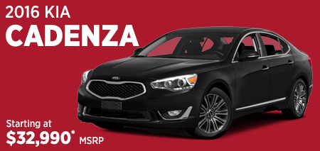 Click to View Our 2016 Kia Cadenza Model Information in Olympia, WA