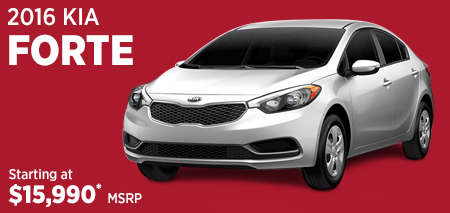 Click For 2016 Kia Forte Model Information in Olympia, WA