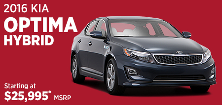 Click to Research The New 2016 Kia Optima Hybrid Model in Olympia, WA