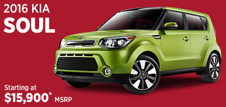 Click For 2016 Kia Soul Model Information in Olympia, WA