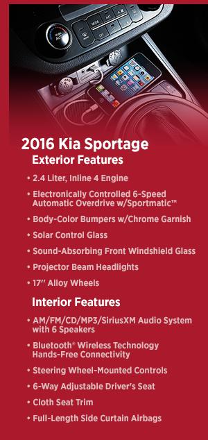 Olympia Auto Mall >> New 2016 Kia Sportage Information | Olympia, WA