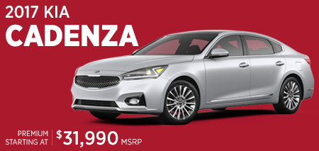Click to research the 2017 KIA Cadenza model in Olympia, WA