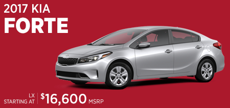 Click For 2017 Kia Forte Model Information in Olympia, WA