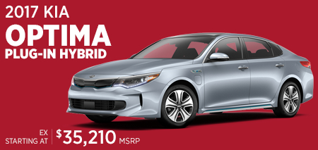 Click For 2017 Kia Optima Plug-in Hybrid Model Information in Olympia, WA