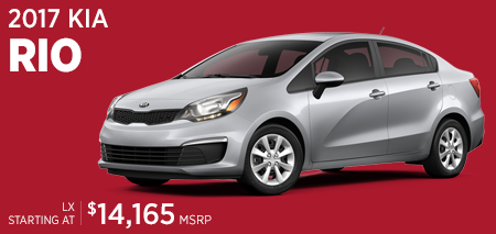 Click For 2017 Kia Rio Model Information in Olympia, WA