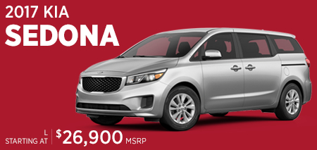 Click For 2017 Kia Sedona Model Information in Olympia, WA