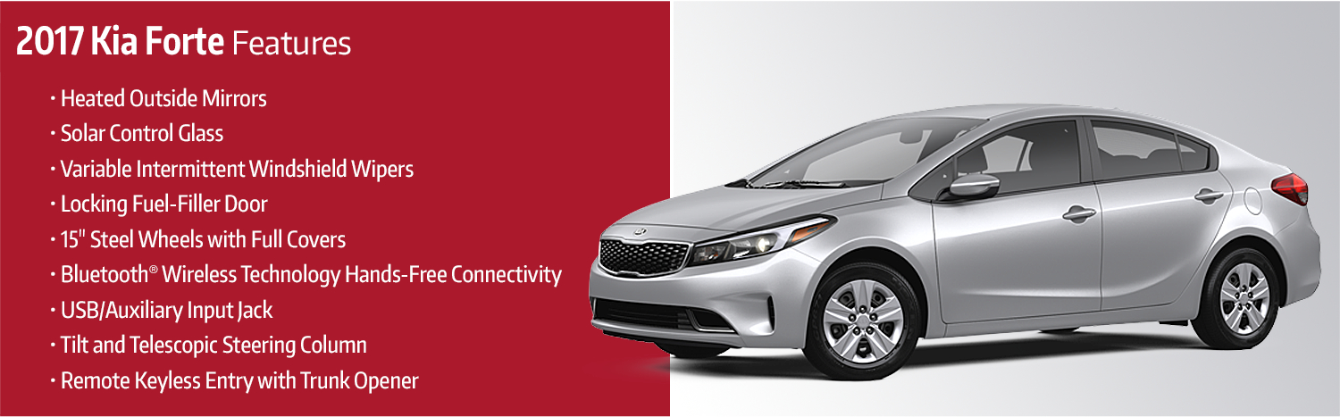 2017 Kia Forte Model Features Details Research Information