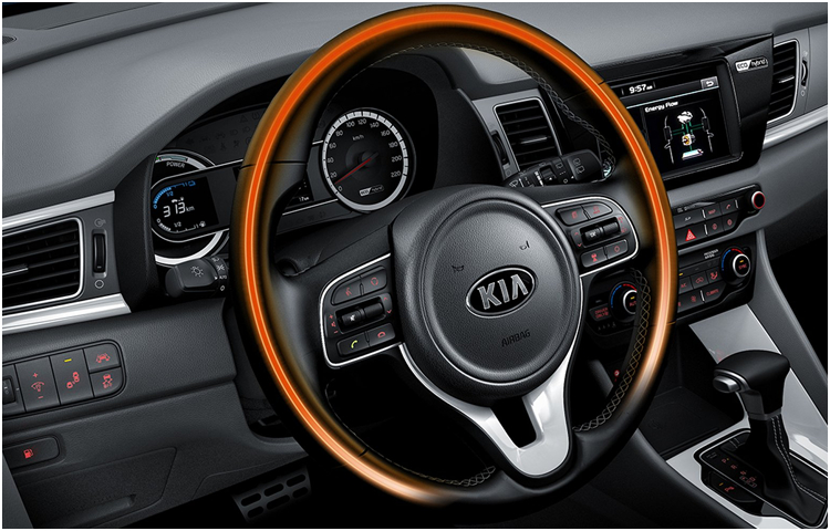 2017 kia niro hybrid model details hatchback car for Interior kia niro