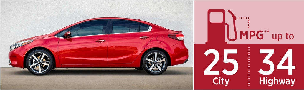 2018 KIA Forte Model MSRP & MPG