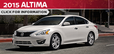 Click To View 2015 Nissan Altima Model Information in Beaverton, OR