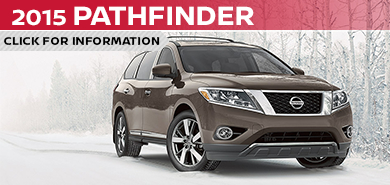 Click To View 2015 Nissan Pathfinder Model Information in Beaverton, OR