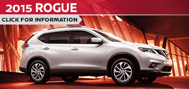 Click To View 2015 Nissan Rogue Model Information in Beaverton, OR