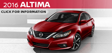 Click to learn more about the stylish new 2016 Nissan Altima available at Carr Nissan serving the Portland, OR area