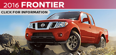 Click to learn more about the stylish new 2016 Nissan Frontier available at Carr Nissan serving the Portland, OR area