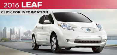 Click to learn more about the stylish new 2016 Nissan Leaf available at Carr Nissan serving the Portland, OR area