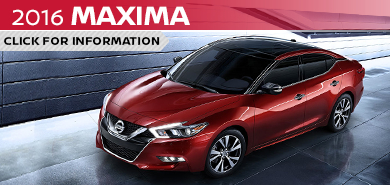 Click to learn more about the stylish new 2016 Nissan Maxima available at Carr Nissan serving the Portland, OR area