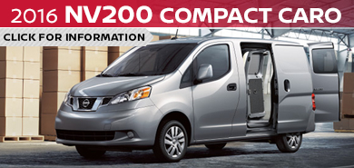Click to research the new 2016 Nissan NV200 Compact Cargo Van model in Beaverton, OR