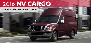 Click to research the new 2016 Nissan NV Cargo Van model in Beaverton, OR