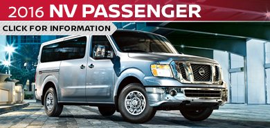 Click to research the new 2016 Nissan NV Passenger Van model in Beaverton, OR
