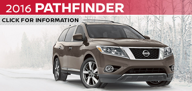 Click to learn more about the rugged new 2016 Nissan Pathfinder available at Carr Nissan serving the Portland, OR area