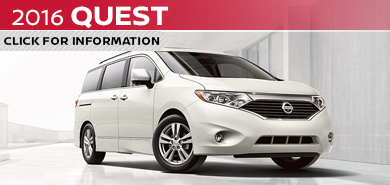 Click to learn more about the versatile new 2016 Nissan Quest available at Carr Nissan serving the Portland, OR area