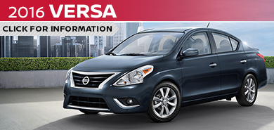 Click to View The 2016 Nissan Versa Model in Beaverton, OR