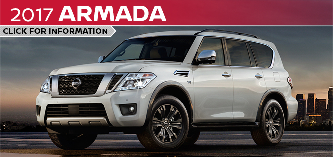 Click to learn more about the new 2017 Nissan Armada model