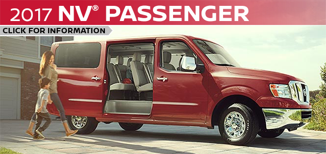 Click to research the new 2017 Nissan NV Passenger model in Beaverton, OR