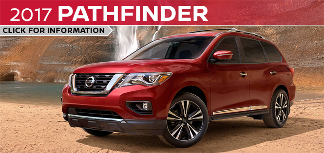 Click to learn more about the new 2017 Nissan Pathfinder model