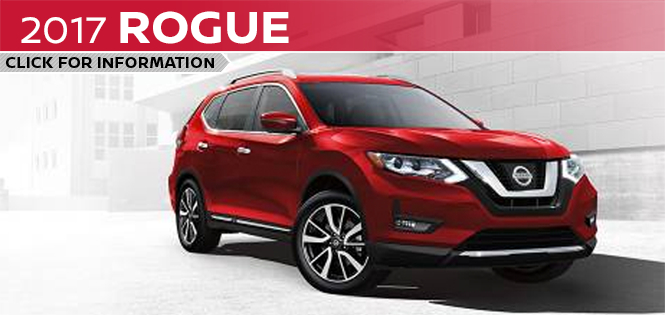 Click to learn more about the new 2017 Nissan Rogue model