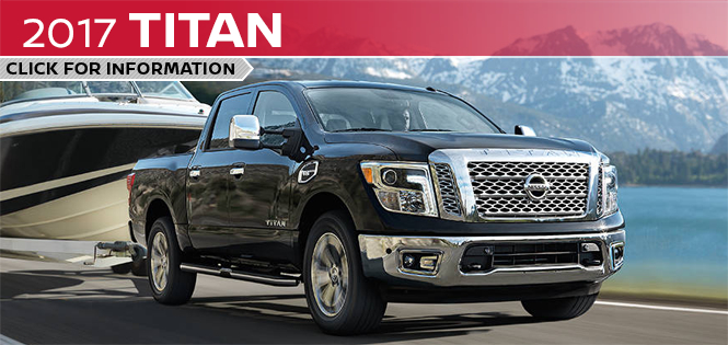 Click to learn more about the new 2017 Nissan Titan model