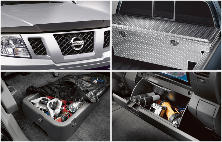 2017 Nissan Frontier Interior Styling