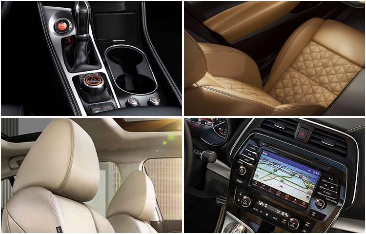 2017 Nissan Maxima Interior Styling