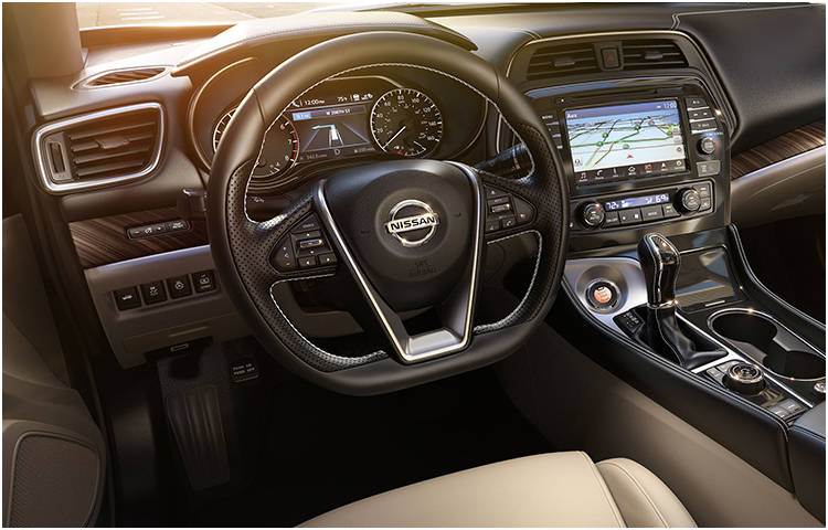 2017 Maxima Interior Styling