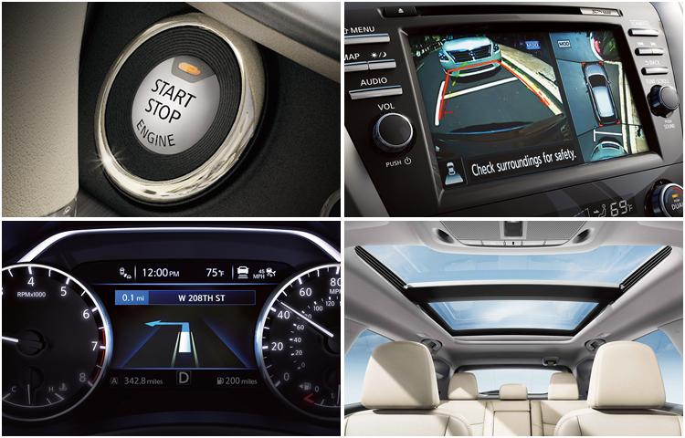 2017 Nissan Murano Interior Styling